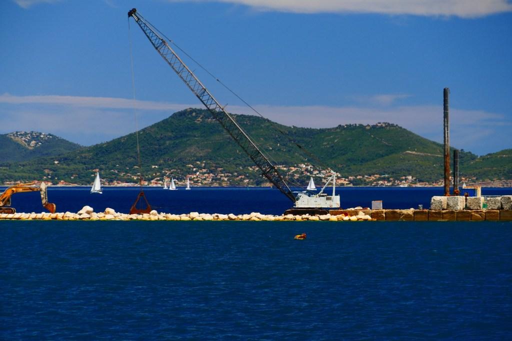 Rade de Toulon: la grande jetée