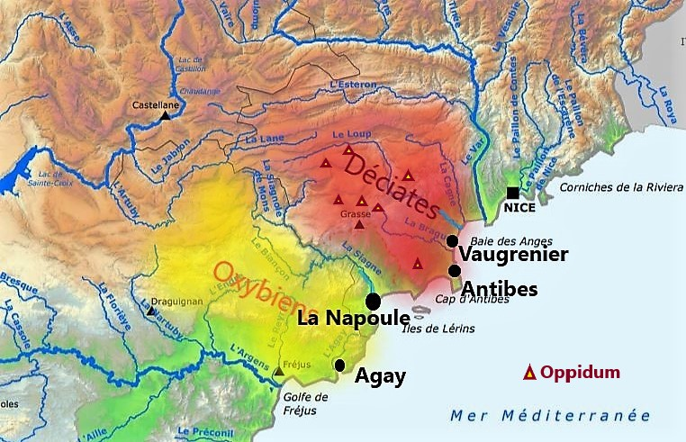 Oxybiens & Déciates sur la Côte d'Azur