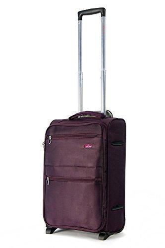 5-villes-cabine-lger-Approuv-rsistant--lusure-et-Trolley-extensible-Poids-lger--roues-sac--bagages-18-pouces-et-21-pouces-0