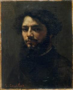 exposition courbet cézanne Autoportrait courbet Besançon