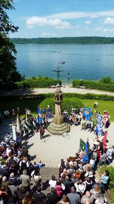 Hommage à Ludwig II, Louis 2 de Bavière, au lac Starnberg en Haute Bavière 26