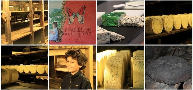 Roquefort Papillon, visite des caves ; terroirs de France en Aveyron 13