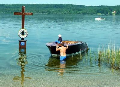 Hommage à Ludwig II, Louis 2 de Bavière, au lac Starnberg en Haute Bavière 38