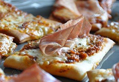recette italienne focaccia fougasse mozarella prosciutto