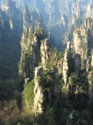 Zhangjiajie, beauté de karsts et de verdures 13