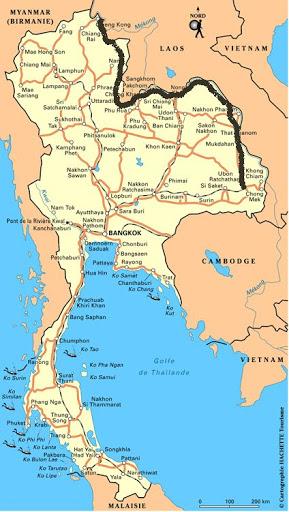 Deux mois autour du Mékong à vélo 1ère partie Thaïlande 1