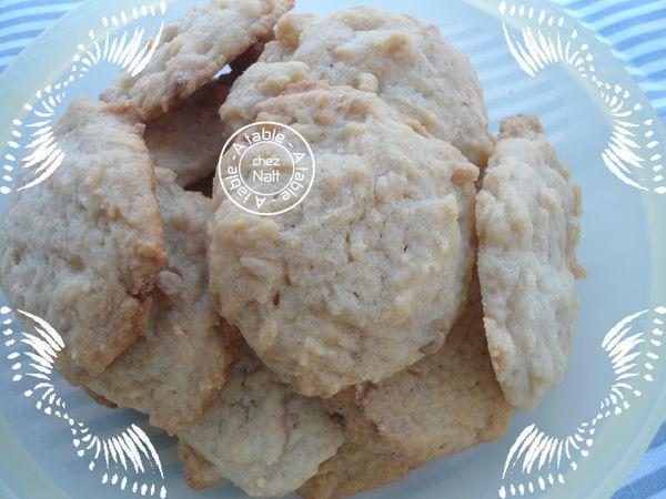 Cookies au chocolat blanc et sirop d'érable