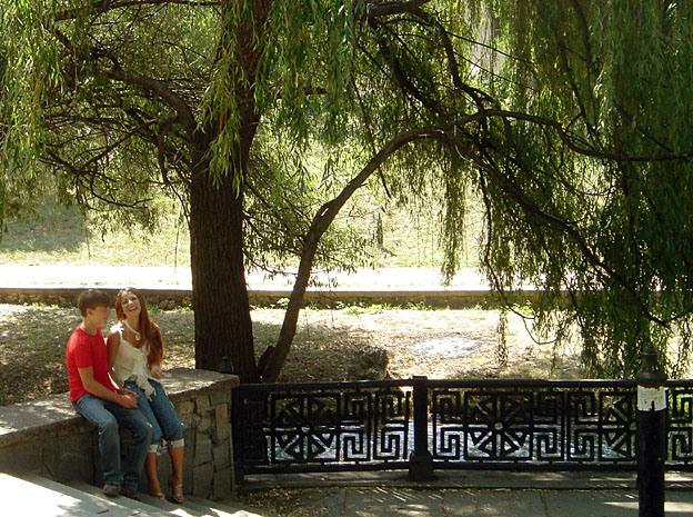 simferopol amoureux en parc
