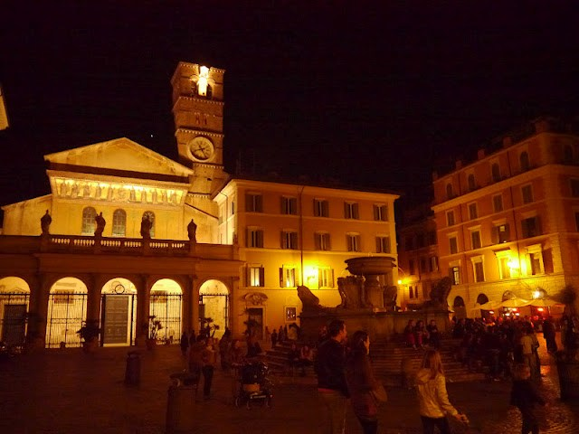 rome eglise Santa Maria in Trastevere