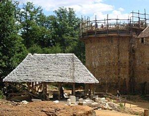 Guédelon chateau chantier