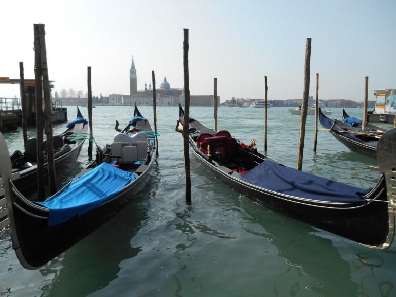 Les gondoles, symbole de cette magnifique ville.