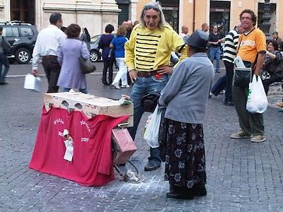 Guide Rome - Piazza Navona, pêle-mêle du dimanche 13