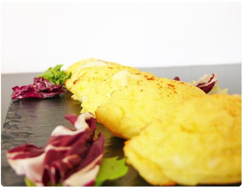 Rioles (quenelles de pomme de terre au chèvre frais)