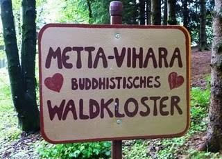 monastere bouddhiste Metta Vihara en Allgau