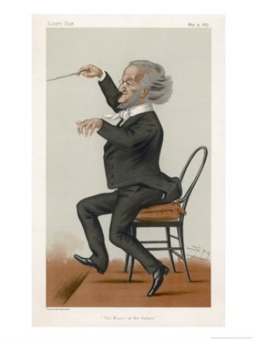 wagner caricature