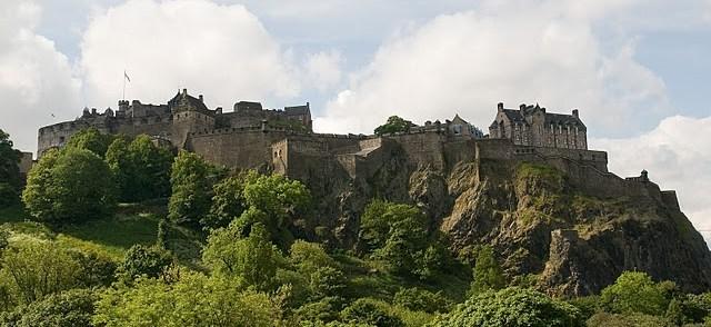 chateau edimburgh ecosse