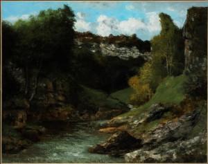 Courbet, environs d'Ornans