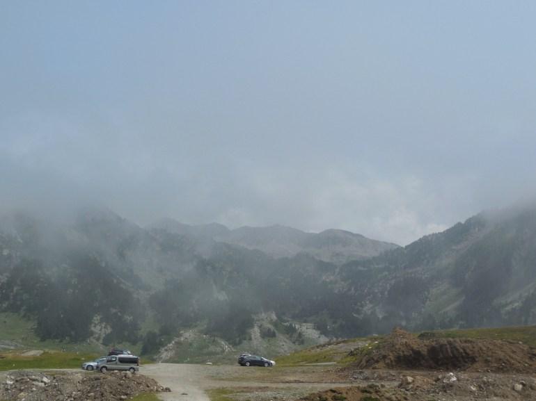 et de nouveau, nous trouverons le brouillard.