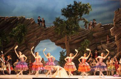 paquita ensemble pas de sept bohemiens wilfried hoesl ballet munich