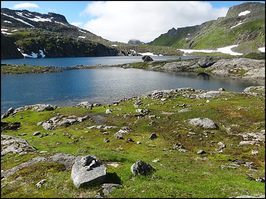 neige eternelle Lofoten