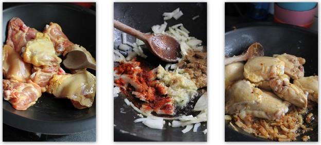 Recette de tajine de poulet aux poires et à la cannelle (Cuisine maghrebine) 2