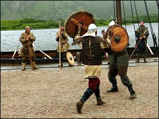 bagarre viking Lofoten
