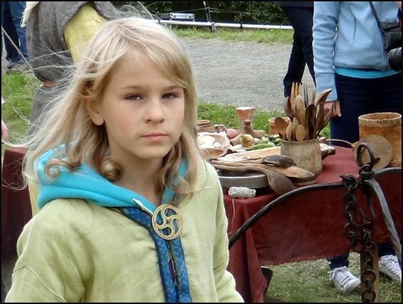 fillette viking Lofoten