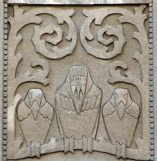 Le Riga Art Nouveau d'Eižens Laube (Tourisme Riga Lettonie) 6