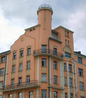 Le Riga Art Nouveau d'Eižens Laube (Tourisme Riga Lettonie) 4