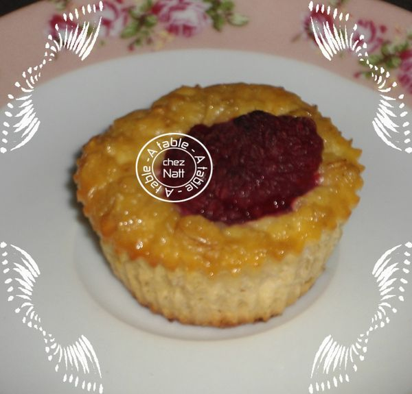 recette cuisine anglaise muffins à la framboise