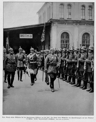 Histoire de Lituanie - Vilnius sous occupation allemande entre 1915 et 1918 4