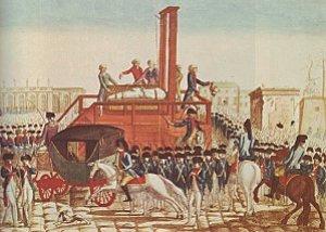 La mort de Louis XVI