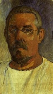 autoportrait gauguin