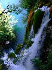 plitvice croatie cascade