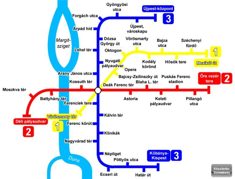 Comment se déplacer à Budapest et pour quel coût? 1
