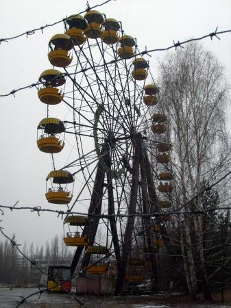 Tchernobyl Pripyat la grande roue