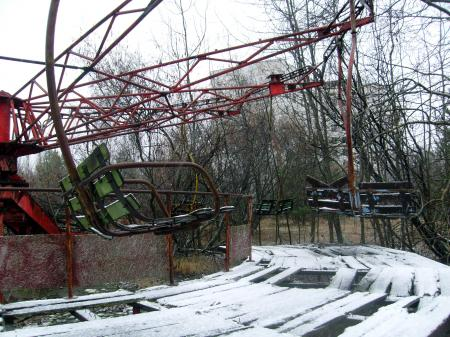 Tchernobyl Pripyat maneges