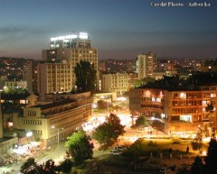 Prishtina de nuit