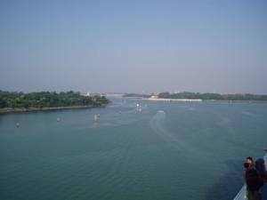 Retour dans la Lagune après un mois en Grèce