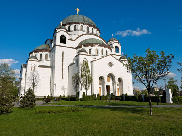 belgrade TEMPLE sava