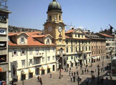 Rijeka, centre-ville