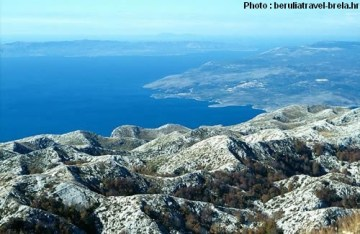 biokovo vue adriatique croatie