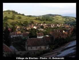 biertan village roumanie