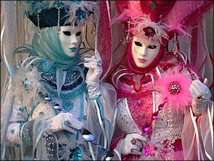 Carnaval de Venise ; magie des masques, exaltation et transgressions 1