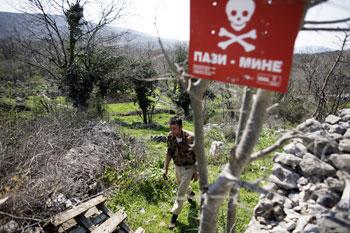 carte mines anti personnels balkans bosnie