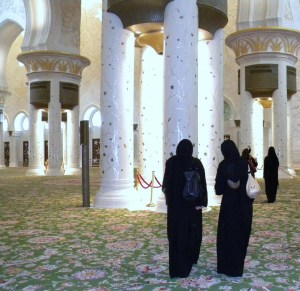 La grande Mosquée d'Abu Dhabi ; une splendeur (Tourisme Emirats Arabes) 3
