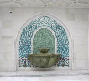 La grande Mosquée d'Abu Dhabi ; une splendeur (Tourisme Emirats Arabes) 12