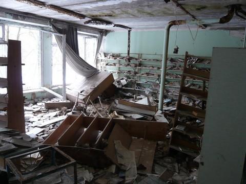 Appartement abandonné à Pripyt - photo : www.bibleetnombres.online.fr
