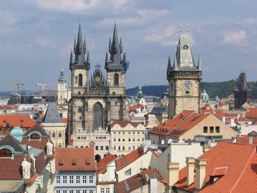 Prague eglise notre dame du tyn