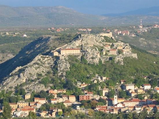 knin croatie forteresse